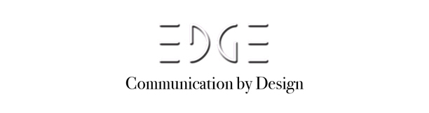 EDGE Communication by Design LogoType