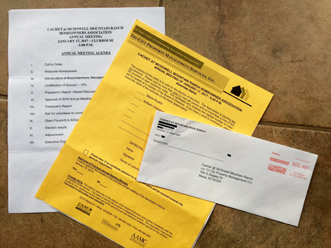 CCMR ballot package image