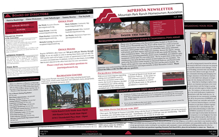 Mountain Park Ranch Newsletter thumbnail image