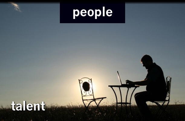 People section, talent photo